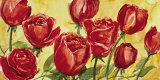 Rose Posters by Giuseppina Tartagni
