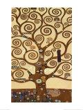 L'arbre de vie, 1909, fresque du Palais Stoclet Posters par Gustav Klimt