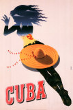 Cuba, Holiday Isle of the Tropics Poster by Seyler