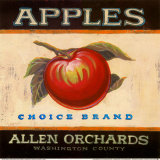 Choice Apples Print by Angela Staehling