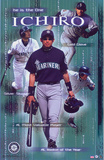 Ichiro Suzuki The ONE POSTER Seattle Mariners RARE NEW Prints