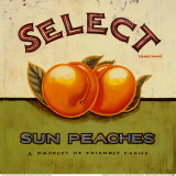 Select Peaches Posters by Angela Staehling
