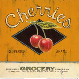 Superior Cherries Posters by Angela Staehling