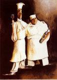Les chefs Posters par Jennifer Garant