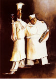 The Chefs Print by Jennifer Garant
