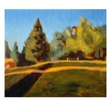 Woodland Park Hill, North Giclee Print by Mary Iverson