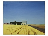 Old Church, Moses Lake Giclee Print by Mary Iverson