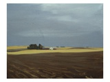 Fields, Moses Lake Giclee Print by Mary Iverson