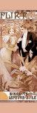 Flirteo Lámina por Alphonse Mucha