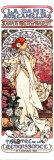 Die Kameliendame Poster von Alphonse Mucha