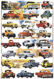 Pick-Up Trucks, 1931-1980 Poster