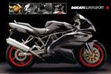 Motorcycle, Ducati Super Sport Posters