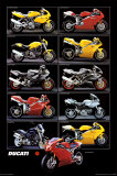 Motorcycle, Ducati Posters