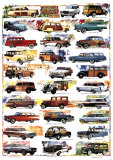 Station Wagons, 1932-1967 Poster