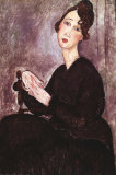 Madame Dedie Prints by Amedeo Modigliani