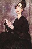 Ritratto di Dédie Poster di Amedeo Modigliani