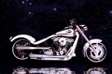 Motorcycle, Radical Custom Big Twin Softail Prints