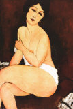 Beautiful Woman Poster di Amedeo Modigliani