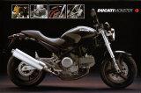 Moto Ducati Monster Poster