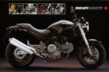 Motorcycle, Ducati Monster Posters
