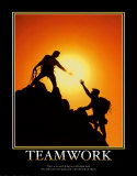 Teamwork Poster