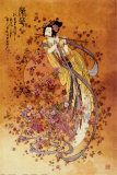 La dea della prosperità Stampe