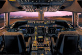 Boeing 747-400 Flight Deck Posters