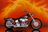Motorcycle, Custom, 1997 Photo