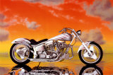 Motorcycle, Custom Posters