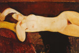 Nude Reclining Prints by Amedeo Modigliani