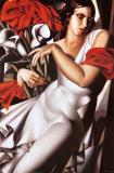 Portrait of Ira Posters av Tamara de Lempicka