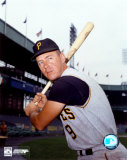 Bill Mazeroski - Bat on shoulder, posed Photo
