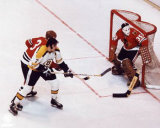 NHL Phil & Tony Esposito - Action Photo