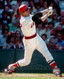 Carlton Fisk -Swinging Photo