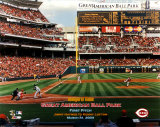 Great American Ballpark - First Pitch Photo