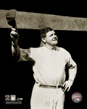 Babe Ruth - Tipping cap, sepia Photo