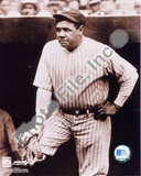 Babe Ruth - In dugout, sepia Photo