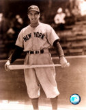 Phil Rizzuto - Holding bat across legs, posed sepia Photo