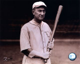 Ty Cobb - With bat, posed, sepia Photo