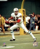 Bob Griese - Prepare to pass Photo