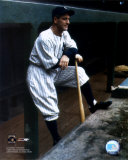 Lou Gehrig - In dugout (color ) Photo