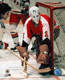 Bernie Parent - In net Photo