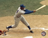 Ernie Banks - Batting Photo