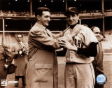 Ralph Branca / Bobby Thomson - Choking Photo