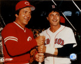 Johnny Bench / Carl Yastrzemski ©Photofile Fotografía