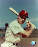 Richie Ashburn - With bat Photo