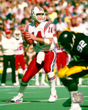 Steve Grogan - Prepare to pass Photo