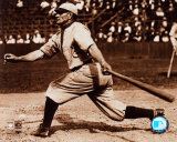 Honus Wagner - Batting, sepia Photo