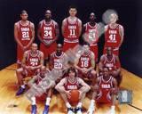 Kobe Bryant, Shaquille O'Neal, Kevin Garnett, Stephon Marbury, Gary Payton, Predrag Stojakovic, Yao Photo