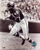 Gale Sayers - Running, sepia Photo